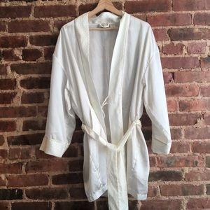 VTG Victoria's Secret Gold Label Short Robe